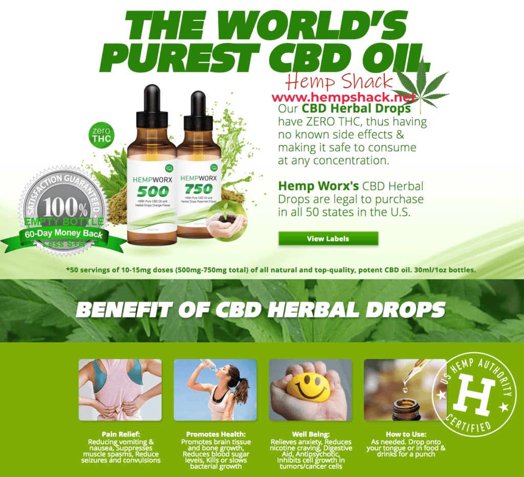 Worlds Purest CBD Oil