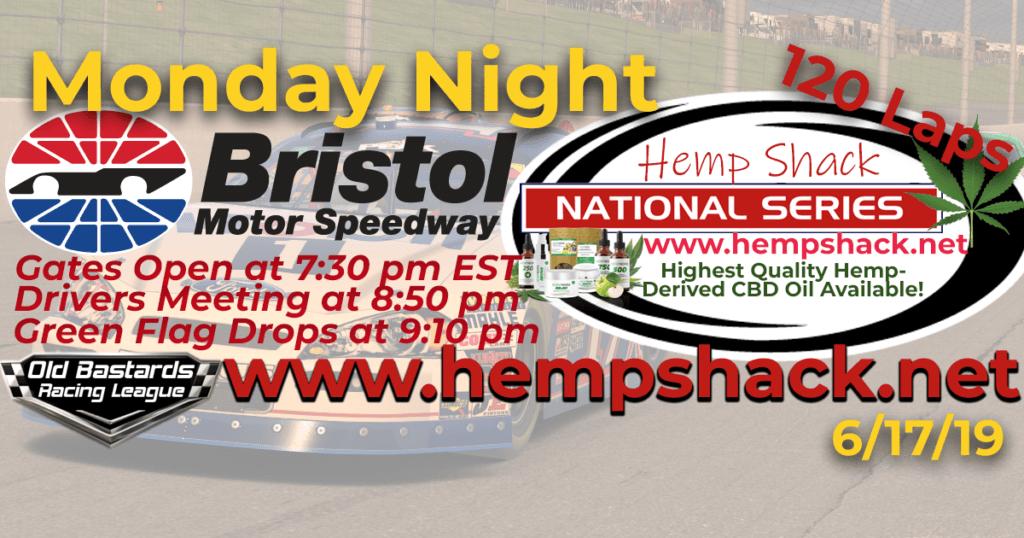 Full Spectrum CBD Oil For Cats Hemp Shack National Series Race at Bristol Motor Speedway