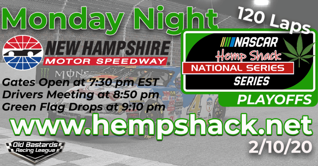 iRacing Hemp Shack 500mg CBD Oil National Series Race at New Hampshire Speedway